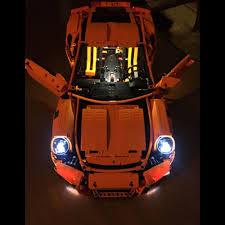 lego technic porsche led light kit for technic porsche 911 gt3 lego 42056