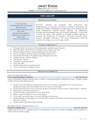 Network Analyst Resume Sample by Resume Sample Data Analyst Resume