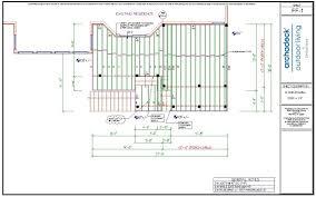 deck framing plans radnor decoration