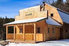 Gambrel Pole Barns Western Saloons Designed U0026 Built The Barn Yard U0026 Great Country