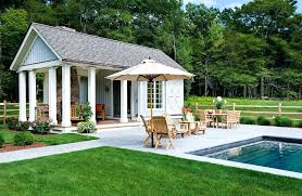 Pool House Plans Free Contemporary Backyard Open Patio Small Pool Small Modern House