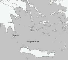 Ancient Map Of Greece by Scott Rhine Books Maps Of Ancient Greece