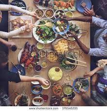 food buffet catering dining eating party stock photo 378546205