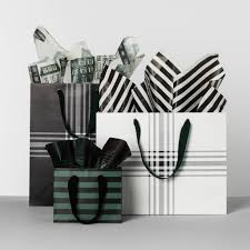 black and white striped gift bags hearth with magnolia striped gift bags joanna gaines