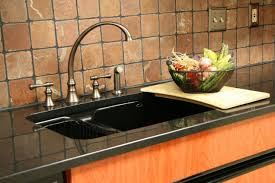 black countertop with black sink inspiring picture for black granite kitchen sink styles and floor