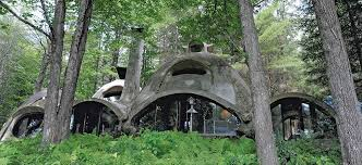 building a home in vermont house tour bob chappelle s domed home is a natural wonder