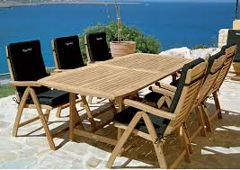 High End Outdoor Furniture Brands by Outdoor Teak Patio Furniture Outdoorlivingdecor