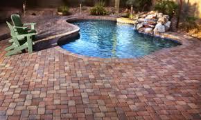 pool patio pavers red brick patio pavers large pavers around pools patio pavers