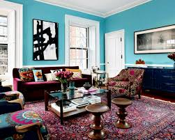 eclectic furniture why not delightful image of colorful living
