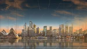backdrop city abc news australia digital backdrops designed by lightwell
