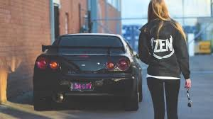 who is the girl in the new nissan altima commercial girl driving nissan skyline r34 gtr youtube