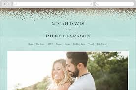 wedding websites confetti wedding websites by eric clegg minted
