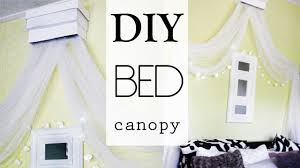 diy bed canopy youtube