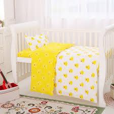 Duck Crib Bedding Set Sale Small Yellow Duck Baby Bedding Set 6 7pcs Crib Bedding