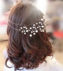 pearl hair accessories new pearl flower hairpins hair wedding bridal hair