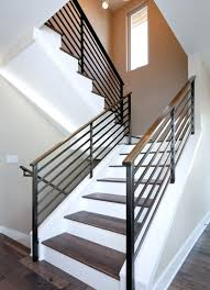 Stainless Steel Stair Handrails Staircase Handrail Design Steel Staircase Gallery