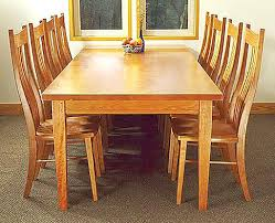 custom dining tables from gary weeks and company
