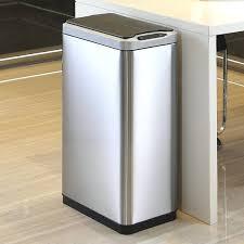 stylish bathroom trash cans modern trash can geneve m multi