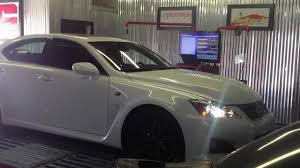 lexus isf xforce lexus isf dyno after header and full exhaust install from auto