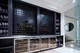 wine racks and glass holders wine cellar contemporary with built