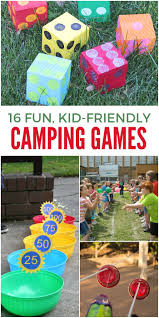 16 of the funnest camping games for kids fun list outdoor games