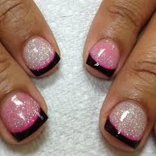 colored acrylic nail tips katty nails katty nails