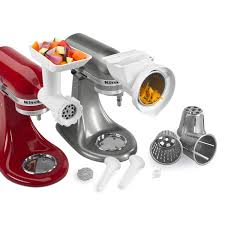Kitchenaid Mixer Accessories by Kitchenaid Kgssa Stand Mixer Attachment Pack 2 With Food Grinder