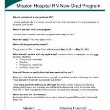 cover letter new graduate nurse resume sample new grad nurse