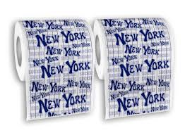Funny Toilet Paper New York Toilet Paper 2 Pack
