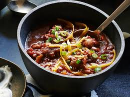 all american chili cooking light smoky beef and bacon chili recipe myrecipes