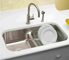 low divide stainless steel sink elkay aqua divide sink like but need one larger bowl kitchen