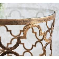 Quatrefoil Side Table Furniture Quatrefoil Metal Quatrefoil Coffee Table Side Table