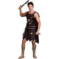Spartan Costume Halloween C191 Mens Spartan Warrior Roman Fancy Costume Xl Ebay