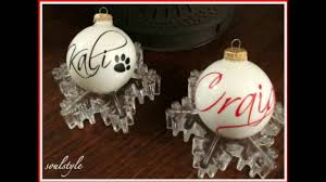 personalized and engraved christmas ornaments youtube