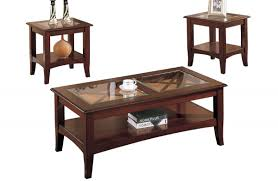 coffee table 3 piece metal glass coffee table set tables sets