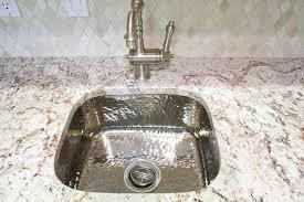 HammeredstainlesssteelsinkKitchenTraditionalwithbarsink - Hammered kitchen sink