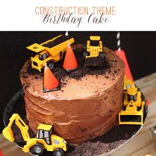 construction birthday cakes birthday cake for construction image inspiration of cake and