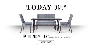 Sears Canada Patio Furniture Sears Canada Flash Sale Save 40 Off Select Patio Furniture The