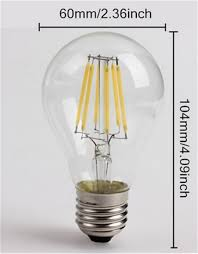 Infinity Led Light Bulbs by Aliexpress Com Buy Vintage Led Filament Bulb A19 6w 4w Led Light