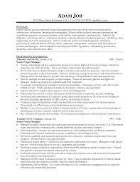 cover letter sample management resumes sample management resume
