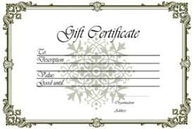 permalink to the simple beauty spa gift certificate template