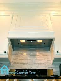 range hood exhaust fan inserts remodelando la casa how to build a range hood intended for range