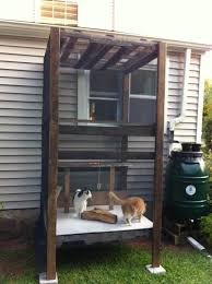 How To Make An Outdoor Bathroom Best 25 Outdoor Cat Enclosure Ideas On Pinterest Cat Enclosure