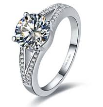 aliexpress buy 2ct brilliant simulate diamond men buy forever diamond ring and get free shipping on aliexpress