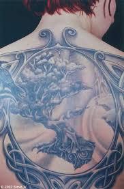 back celtic knot tree of tattooshunter com