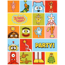Yo Gabba Gabba Party Ideas by Yo Gabba Gabba Party Invitations Birthdayexpress Com