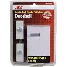 Exterior Door Bells Door Chimes And Doorbells At Ace Hardware
