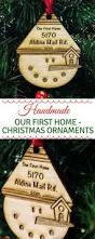 christmas ornaments first home christmas ornament new home