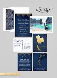 destination wedding invitation thailand phuket asia thai
