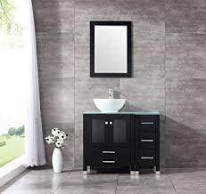 36 inch bathroom cabinet sliverylake 36 inch bathroom vanity cabinet vanities with vessel